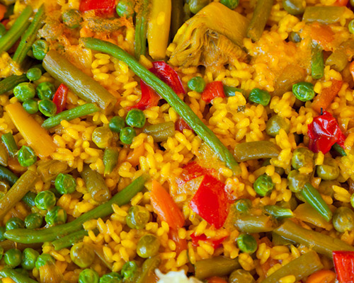 Green beans, peas, red and green pepper, mushrooms, carrots, broccoli, butter beans, asparagus, aubergine, courgette…etc